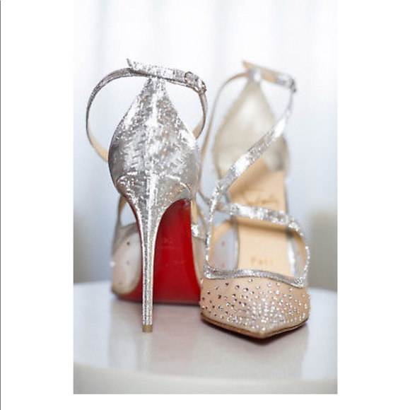 ad042fbb324 Christian Louboutin Shoes - Christian Louboutin Twistissima STRASS  Rhinestone
